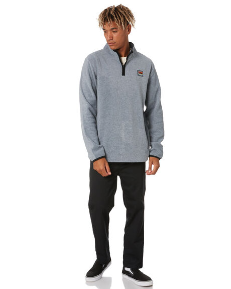 GREY HEATHER MENS CLOTHING DEPACTUS JUMPERS - D5203440GRYHT