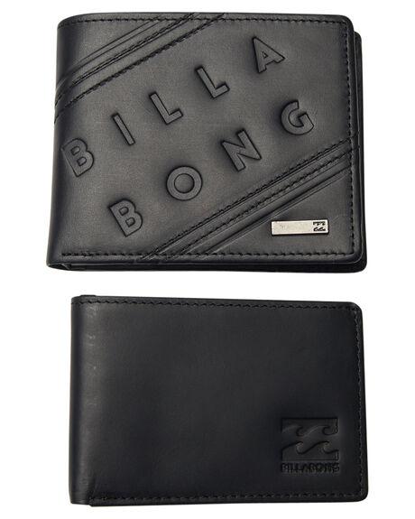 BLACK OUTLET MENS BILLABONG WALLETS - 9671205ABLK