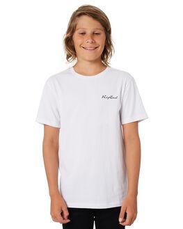 WHITE KIDS BOYS RIP CURL TOPS - KTEWJ21000