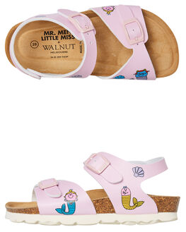 PINK KIDS GIRLS WALNUT THONGS - ROTTERDAMPINK