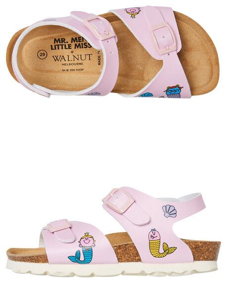 PINK KIDS GIRLS WALNUT THONGS - ROTTERDAMPINK