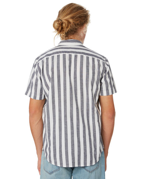 BLUE STRIPE MENS CLOTHING LEVI'S SHIRTS - 21977-0083BLUST