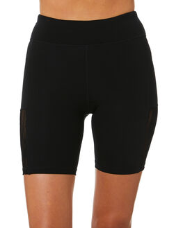 BLACK WOMENS CLOTHING THE UPSIDE ACTIVEWEAR - USW120097BLK