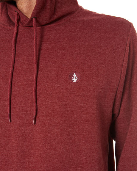 WINE HEATHER MENS CLOTHING VOLCOM JUMPERS - A4101919WNE