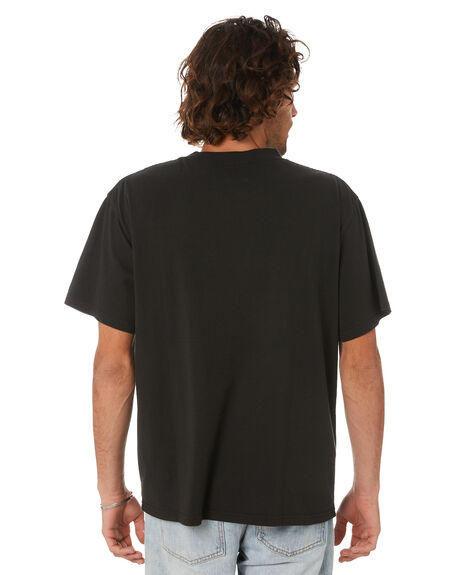 CRITICALBLACK MENS CLOTHING THE CRITICAL SLIDE SOCIETY TEES - TE2105CRITBLK