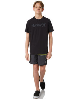 BLACK KIDS BOYS HURLEY BOARDSHORTS - AO2217010