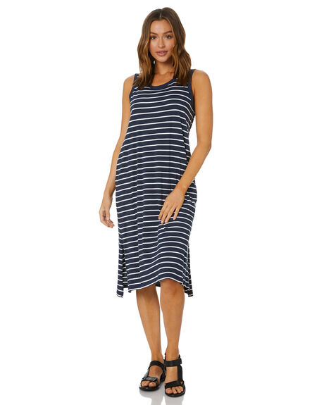 NAUTICAL WOMENS CLOTHING BETTY BASICS DRESSES - BB269S20NAU