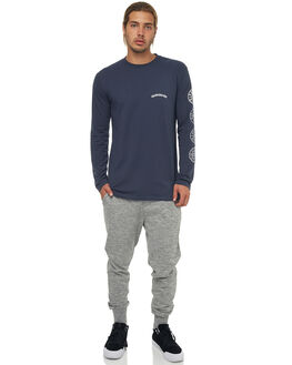 MEDIUM GREY HEATHER MENS CLOTHING QUIKSILVER PANTS - EQYFB03145KPVH