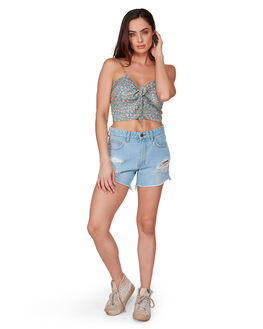 FRENCH BLUE WOMENS CLOTHING BILLABONG FASHION TOPS - BB-6507116-376