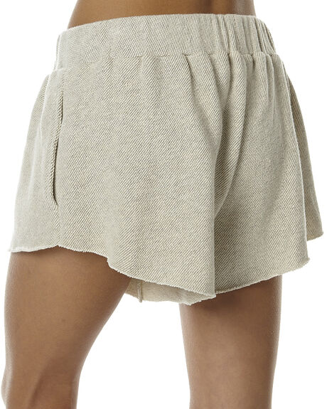 OATMEAL WOMENS CLOTHING CAMILLA AND MARC SHORTS - NCMP4171OAT