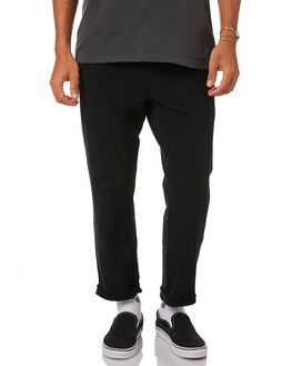 BLACK MENS CLOTHING THE CRITICAL SLIDE SOCIETY PANTS - PT1814BLK