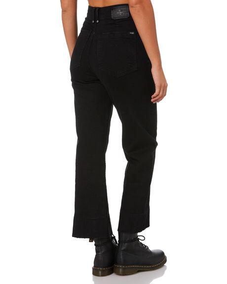 BLACK WOMENS CLOTHING THRILLS JEANS - WTDP-433BBLK