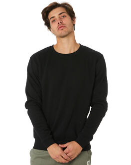 BLACK OUTLET MENS SWELL JUMPERS - S5164445BLK