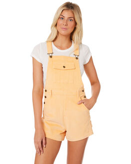 APRICOT CREAM WOMENS CLOTHING AFENDS PLAYSUITS + OVERALLS - W184883APRI