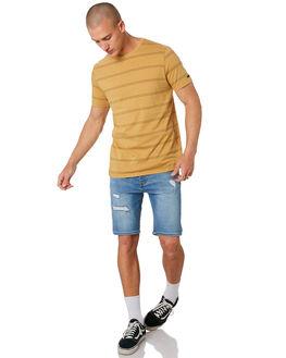 MUSTARD MENS CLOTHING RIP CURL TEES - CTESA21041