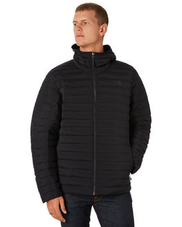 BLACK MENS CLOTHING THE NORTH FACE JACKETS - NF0A307MKX7