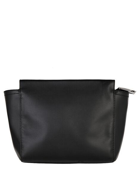 BLACK FUR WOMENS ACCESSORIES STATUS ANXIETY BAGS + BACKPACKS - SA7222BKFUR
