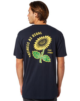 NAVY OUTLET MENS FEAT TEES - FTSBAU01NAVY