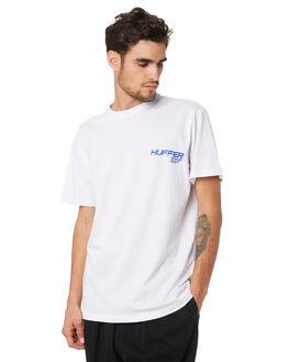 WHITE MENS CLOTHING HUFFER TEES - MTE94S40919WHT