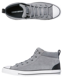 MASON BLACK MENS FOOTWEAR CONVERSE SNEAKERS - 161466MAS