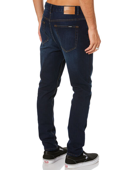 DARK BLUE MENS CLOTHING INSIGHT JEANS - 1000079236DKBLU