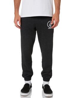 HEATHER BLACK MENS CLOTHING VOLCOM PANTS - A12318R0HBK