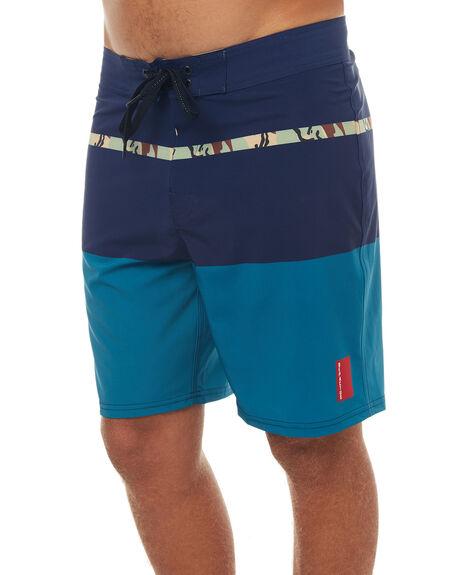 NAVY MENS CLOTHING DEPACTUS BOARDSHORTS - D5171237NAVY