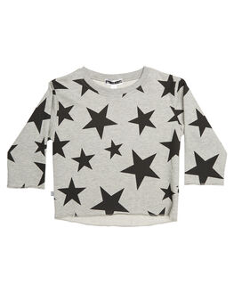 GREY MARLE KIDS TODDLER BOYS SWEET CHILD OF MINE JUMPERS - BLACKSTARSHRTGRY