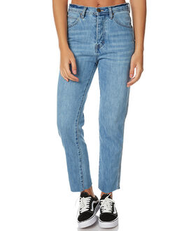 BLUE CURB WOMENS CLOTHING ZIGGY JEANS - ZW-1204TBLC