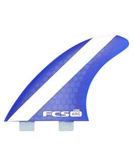 BLUE SURF HARDWARE FCS FINS - 1118-160-28-RBLU