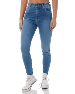 CHLOE BLUE WOMENS CLOTHING ROLLAS JEANS - 1246912469