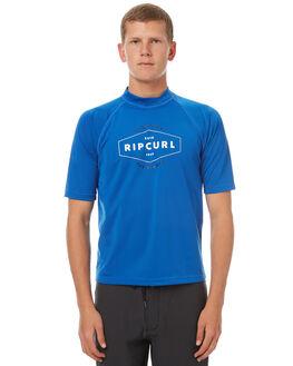 BLUE SURF RASHVESTS RIP CURL MENS - WLY7DM0070