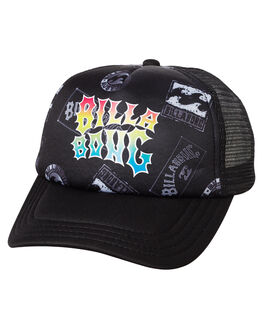 BLACK KIDS BOYS BILLABONG HEADWEAR - 7672303BBLK