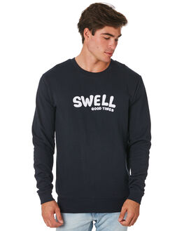 NAVY MENS CLOTHING SWELL JUMPERS - S5194441NAVY