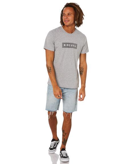 GREY MARLE MENS CLOTHING RIP CURL TEES - CTERB90085