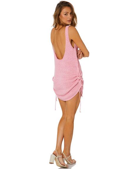 PINK WOMENS CLOTHING SNDYS DRESSES - SFD529PINK
