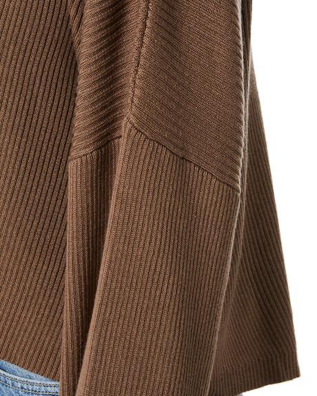 CHOCOLATE WOMENS CLOTHING SNDYS KNITS + CARDIGANS - SFK053CHOC