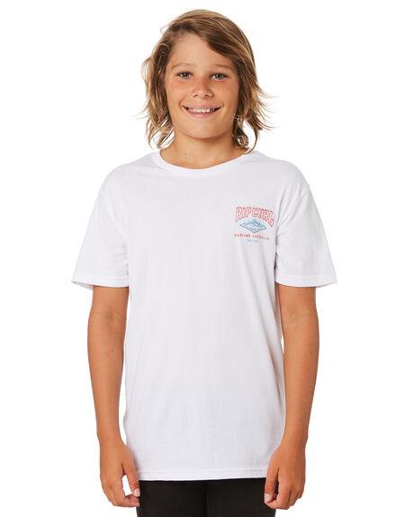WHITE KIDS BOYS RIP CURL TOPS - KTEWY31000