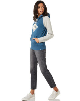 BLUE FORCE HEATHER WOMENS CLOTHING HURLEY JUMPERS - AGFLK19436
