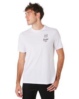 BASQUIAT WHITE MENS CLOTHING HERSCHEL SUPPLY CO TEES - 50027-00446BSQWH