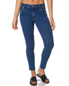 VENICE BLUE WOMENS CLOTHING ROLLAS JEANS - 12173212