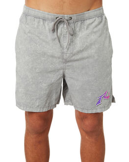 STONE GREY MENS CLOTHING RUSTY SHORTS - WKM0917SOG