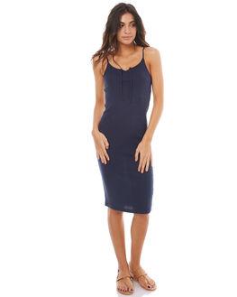 DRESS BLUES WOMENS CLOTHING ROXY DRESSES - ERJKD03150BTK0