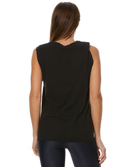 BLACK WOMENS CLOTHING THE UPSIDE ACTIVEWEAR - UPL1286BBLK