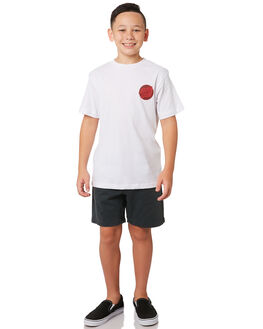 WHITE KIDS BOYS SANTA CRUZ TOPS - SC-YTA9191WHT
