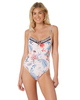 PETAL WOMENS SWIMWEAR SEAFOLLY ONE PIECES - 10820-489PTL