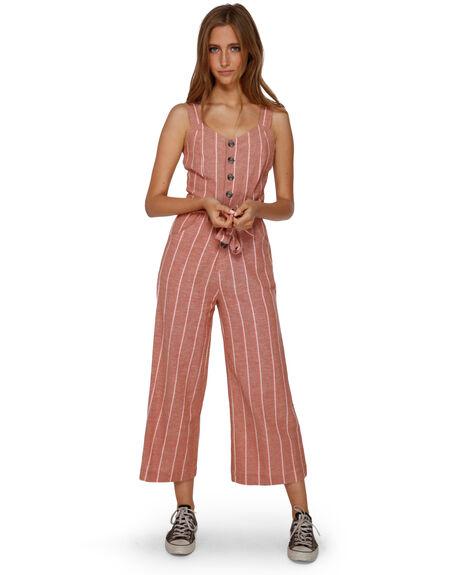 GINGER WOMENS CLOTHING BILLABONG PLAYSUITS + OVERALLS - BB-6591512-GIN