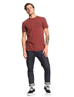 ANDORA MENS CLOTHING QUIKSILVER TEES - EQYZT05419-RSD0