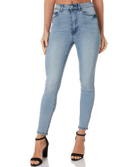 DAWN BLUE WASH WOMENS CLOTHING DR DENIM JEANS - 1410104-G70