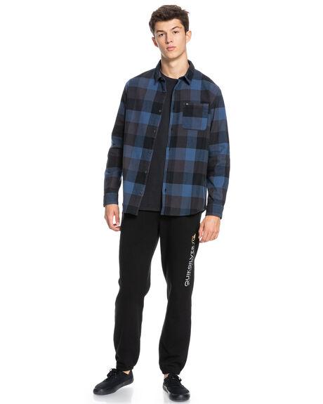 TARMAC MOTHERFLY MENS CLOTHING QUIKSILVER SHIRTS - EQYWT04130-KTA1